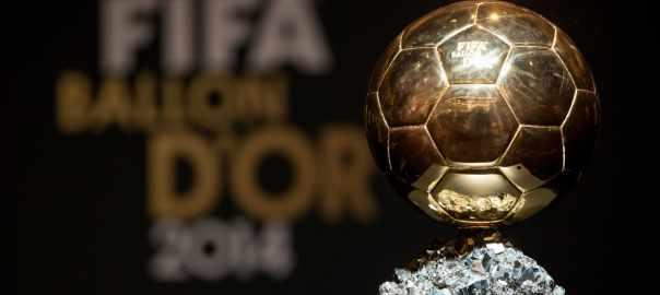 Ballon d'Or [PHOTO CREDIT: FIFA.com]