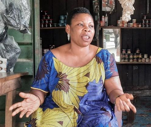 Peace Okon, a trader