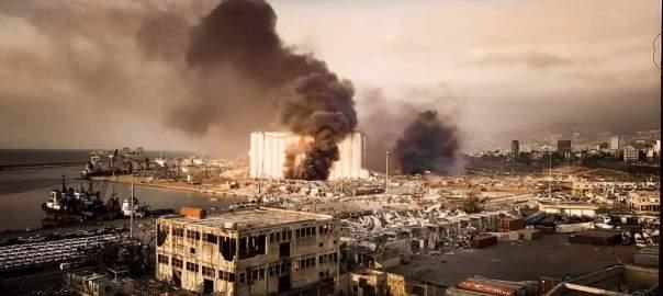 Lebanon Explosion (PHOTO CREDIT: Twitter @fairygordon