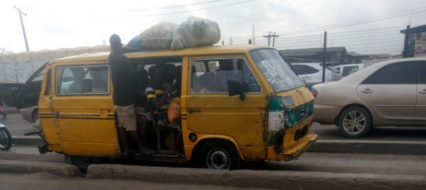 Danfo bus in Lagos