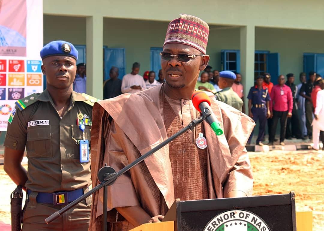 Executive Governor of Nasarawa Stare; Engr Abdullahi A. Sule [PHOTO CREDIT: @NasarawaGovt]
