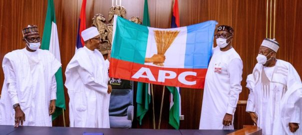 Buhari backs Ize-Iyamu for Edo election [Photo Credit: Bashir Ahmad]
