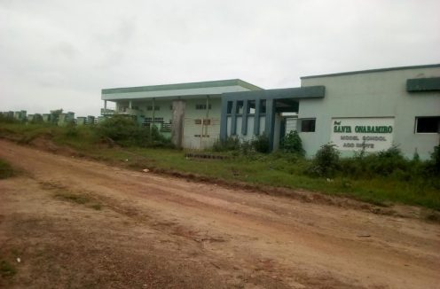 Front view of Sanya Onabamiro College Ago Iwoye, Ijebu North