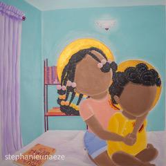 The Innocent 2 - Black Boys Don't Cry, 2020 Acrylic on Canvas, 90 x 100 cm