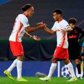 RB Leipzig vs Atletico Madrid [PHOTO: TW: @ChampionsLeague]