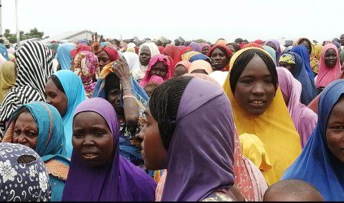 Women in Borno IDP camp