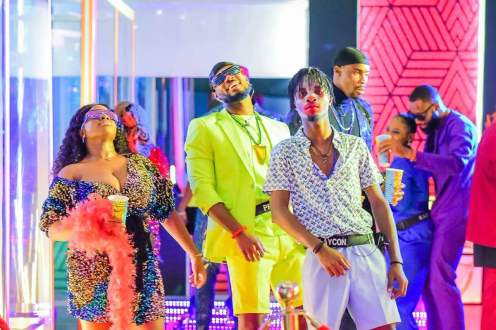 Big Brother Naija Season 5 contestants party in the first week of their acceptance into the house. AfricaMagic/DSTV