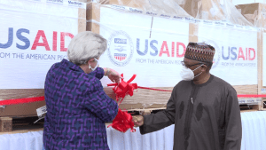 U.S donates 200 ventilators to Nigeria