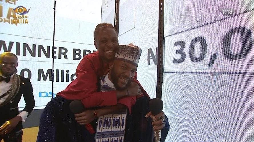 Laycon, winner of Big Brother Naija [Photo: BBNaija Twitter]