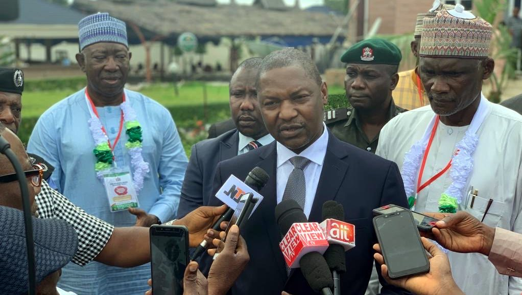 Attorney-General of the Federation and Minister of Justice, Abubakar Malami. [PHOTO CREDIT: Official Twitter handle of Mr Malami || @MalamiSan]