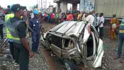 Highlander JEEP involved in the Train Accident