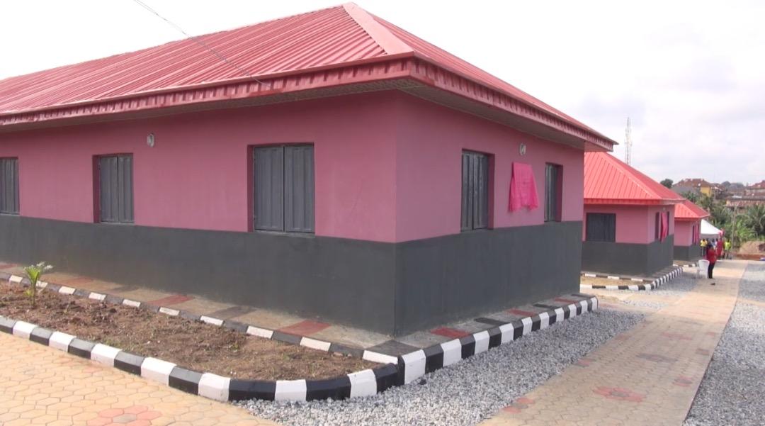One of the classroom blocks donated by Mr Deji Bademosi