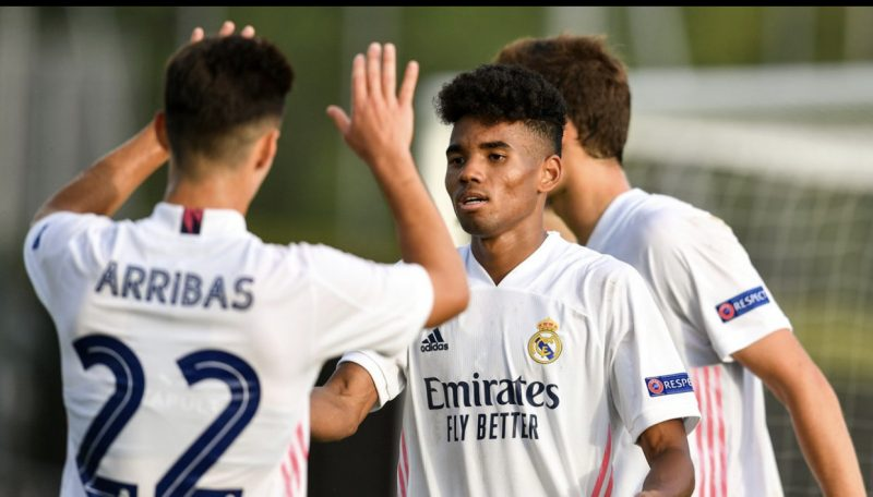 LaLiga: 20-year old Olawale Akinlabi debuts for Real Madrid