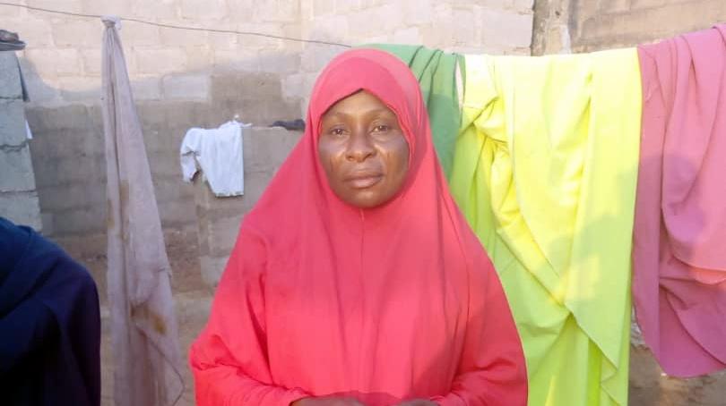 Malama Hadiza Isa, Bilikisu's mum wants justice for the death of her daughter (Credit: James Aparshe)