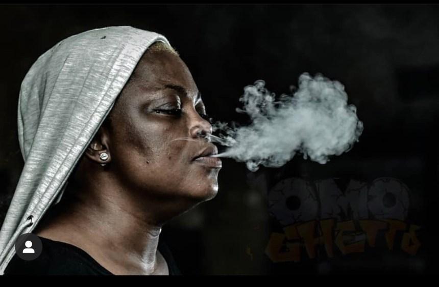 Behind-scene photos from Funke Akindele's Omo Ghetto 2