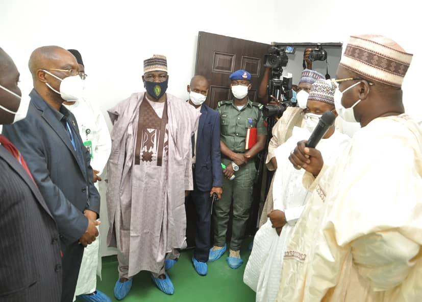 PHOTOS: Gombe Deputy Governor receives UN delegation  CREDIT: Gombe State Media Office