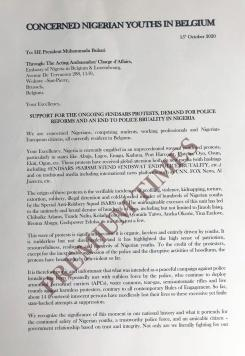 Copy of the letter submitted at the embassy 1