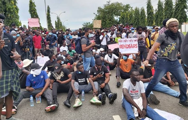 EndSARS protesters shouldn't have left the streets - Group