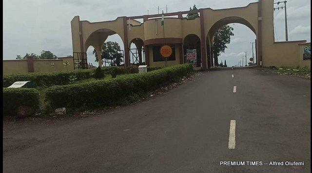 Entrance of Federal Polytechnic Offa (FEDPOFFA)