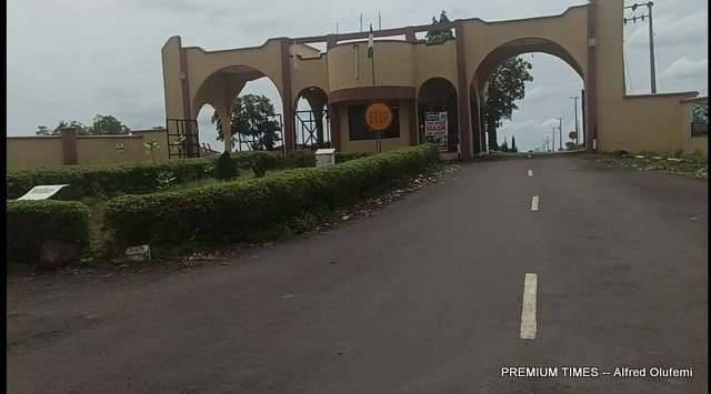 Entrance of Federal Polytechnic Offa (FEDPOFFA)