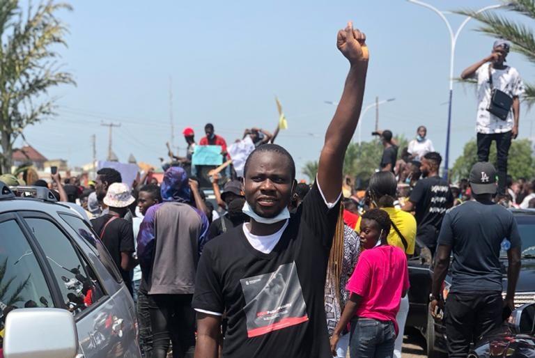Kwara #EndSARS protesters