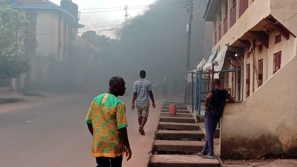 Ebonyi erupts in violence