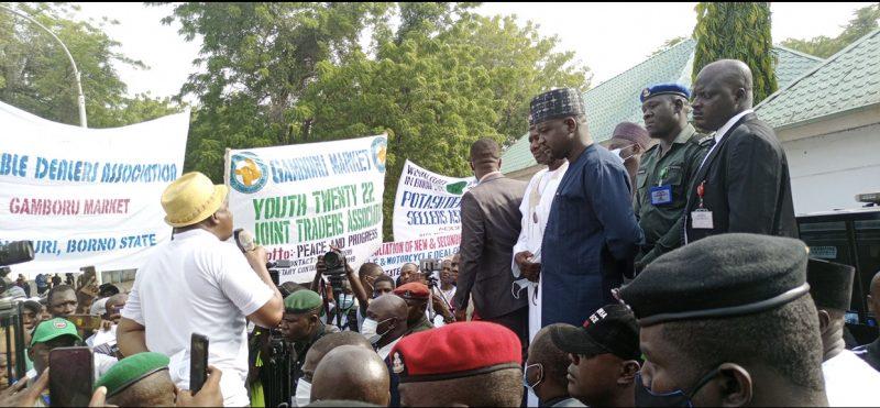 SARS helping us in Borno -- Protesters