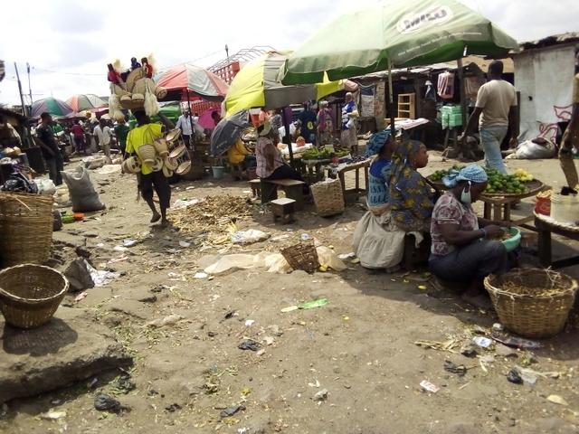 Ikosi fruit market biogas facility, in 2013. [Photo Credit: Temitope Jaleku]
