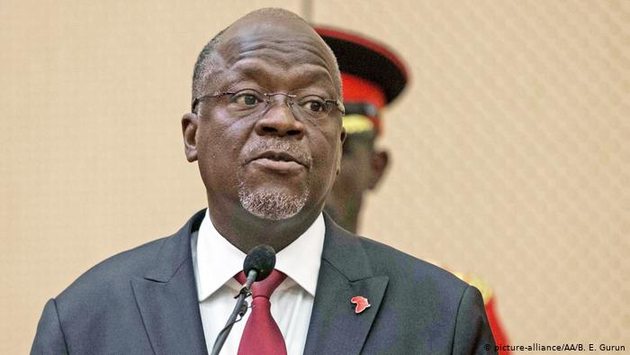 Re-elected Magufuli sworn in as Tanzanian president