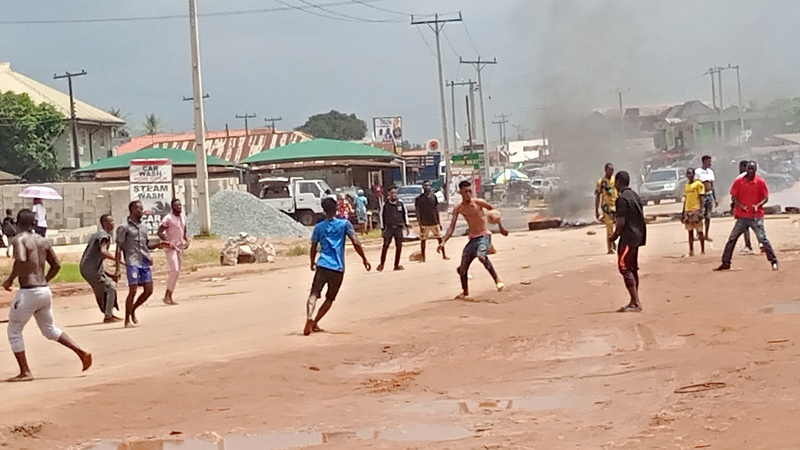 Protesters block entry, exit points in Benin