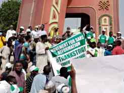 Kano youth protest