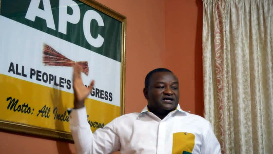Hassan Ayariga, presidential candidate of the All Peoples Congress (APC) in the December 7 Ghanaian general elections.