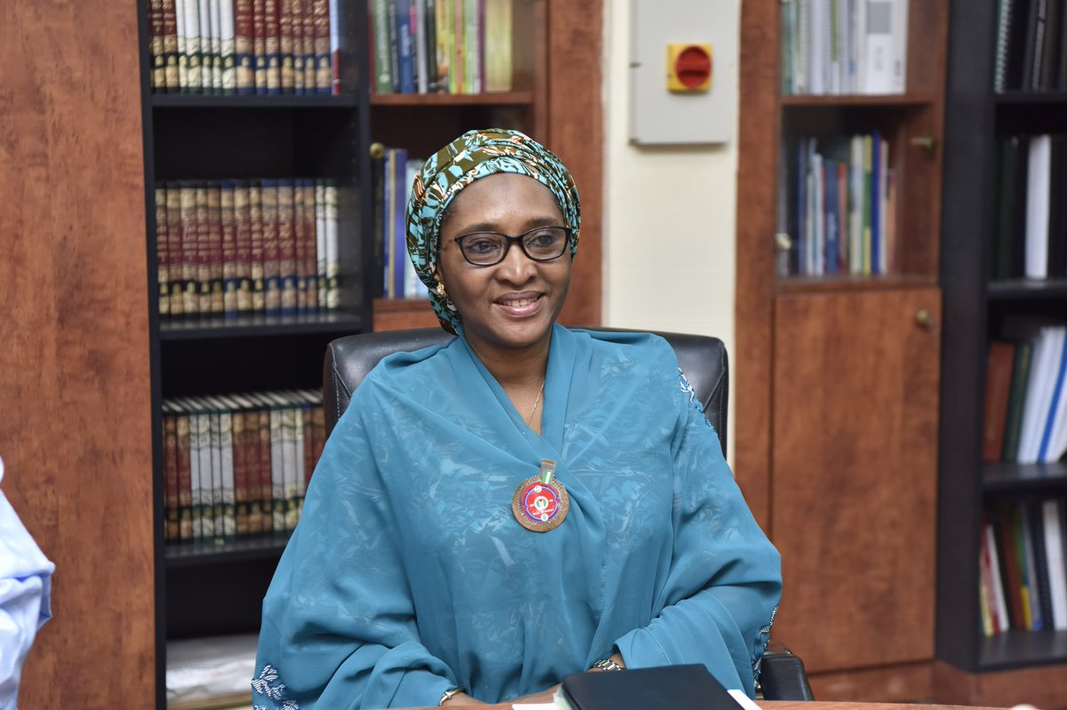 Minister of Finance, Zainab Ahmed