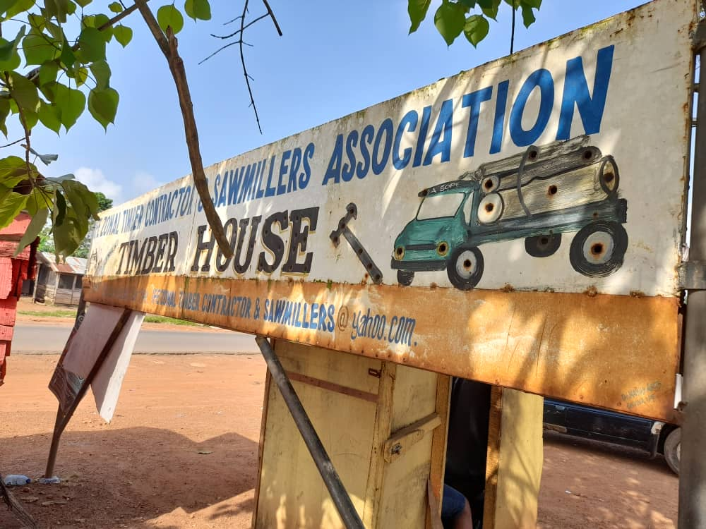 Office of Ife Timber and Sawmill Association