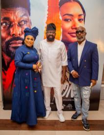 Sola Sobowale, Kunle Afolayan and Tola Odunsi