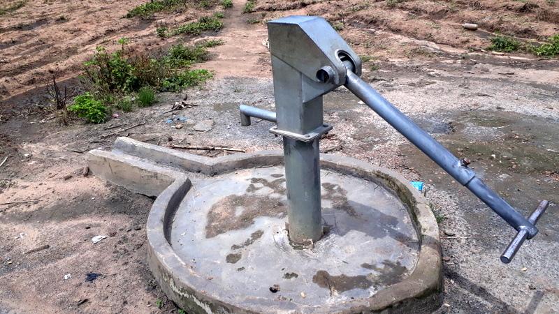 Bore hole at Kutara by CSDP