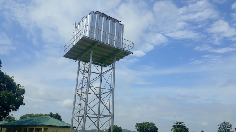 Functioning tank in Gomani donated by Phillip Audu