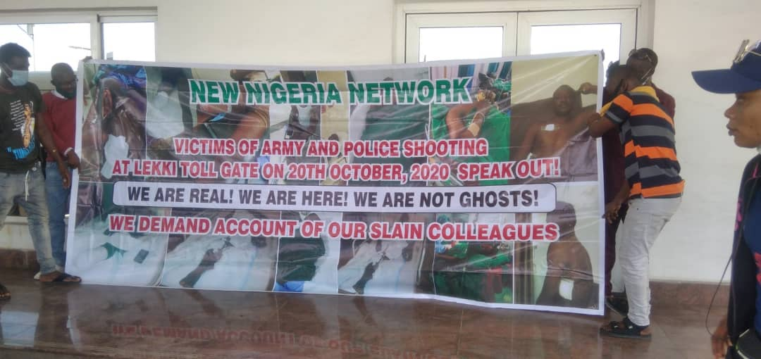 The demonstration banner