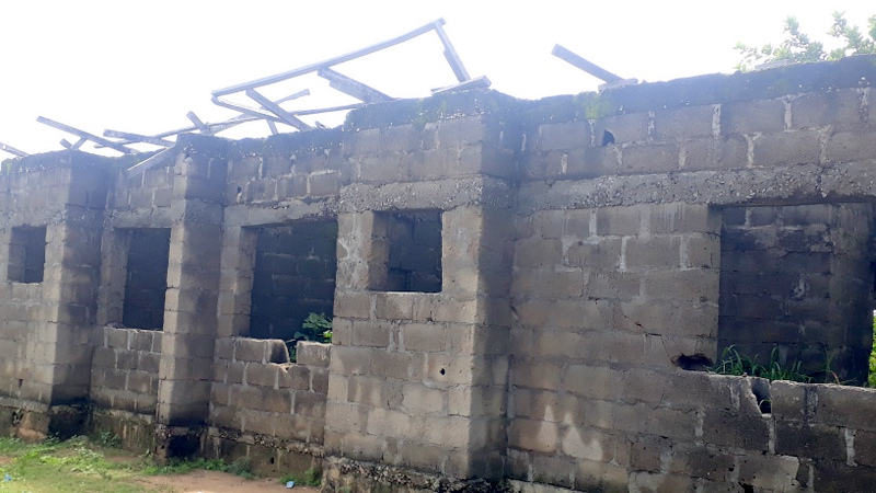 Uncompleted PHC in Gomani