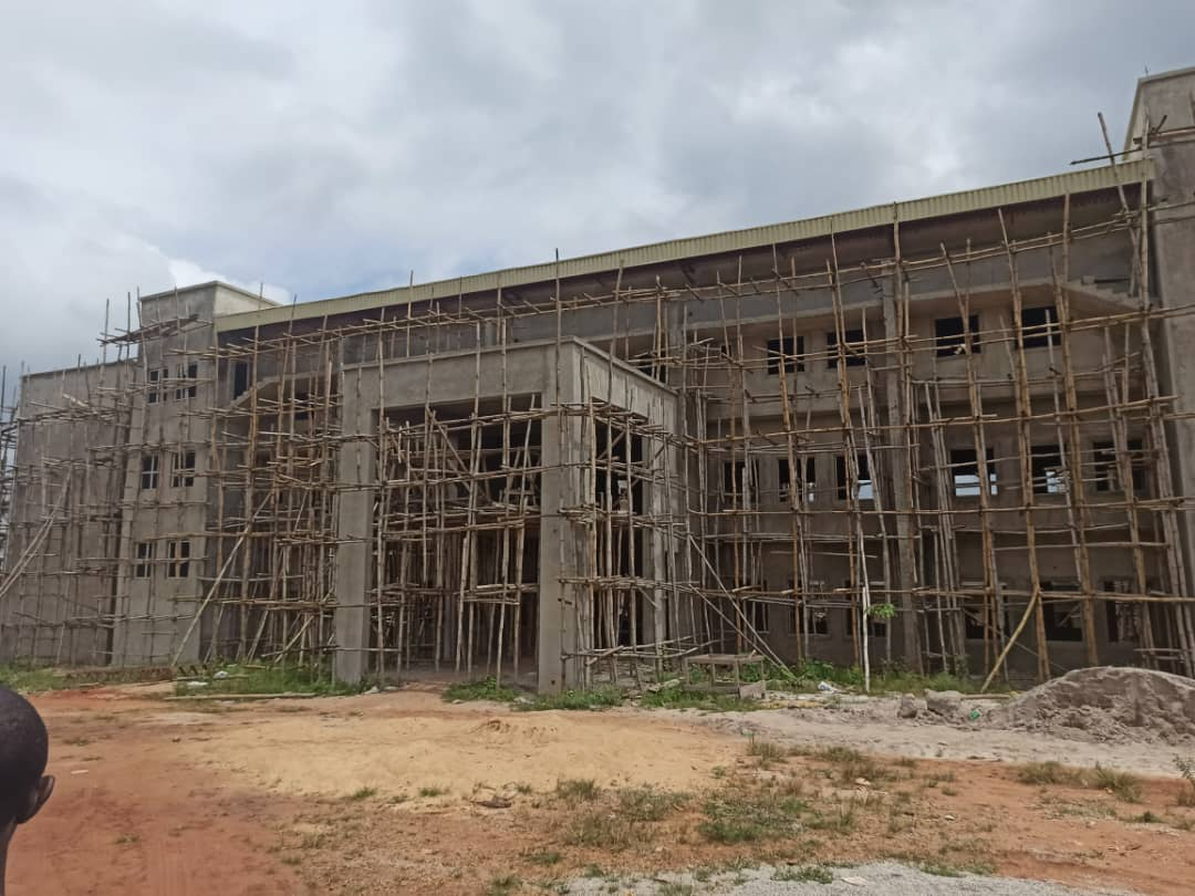 Uncompleted STARS university building