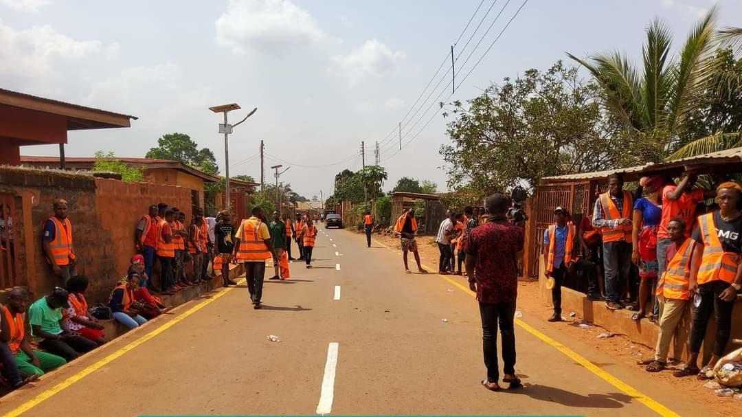 Rehabilitated Access Road In Eha-Alumona, Nsukka LGA, Enugu State, Attracted By Rt. Hon. Pat Asadu