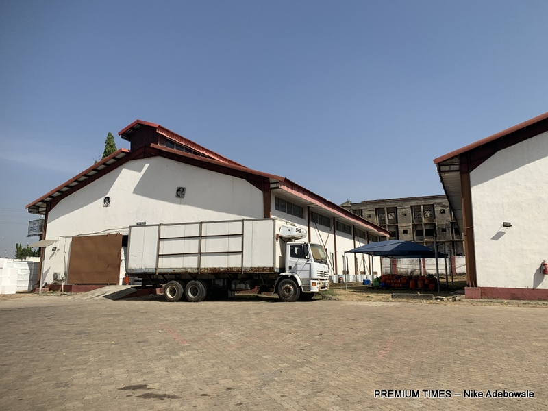 The National Strategic Cold Store situated along the Nnamdi Azikiwe international airport, Abuja