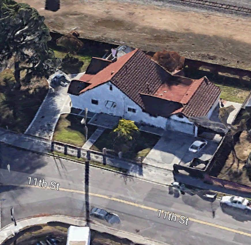 A Google Earth Snapshot of Renua Giwa-Amu's home in Union City, California