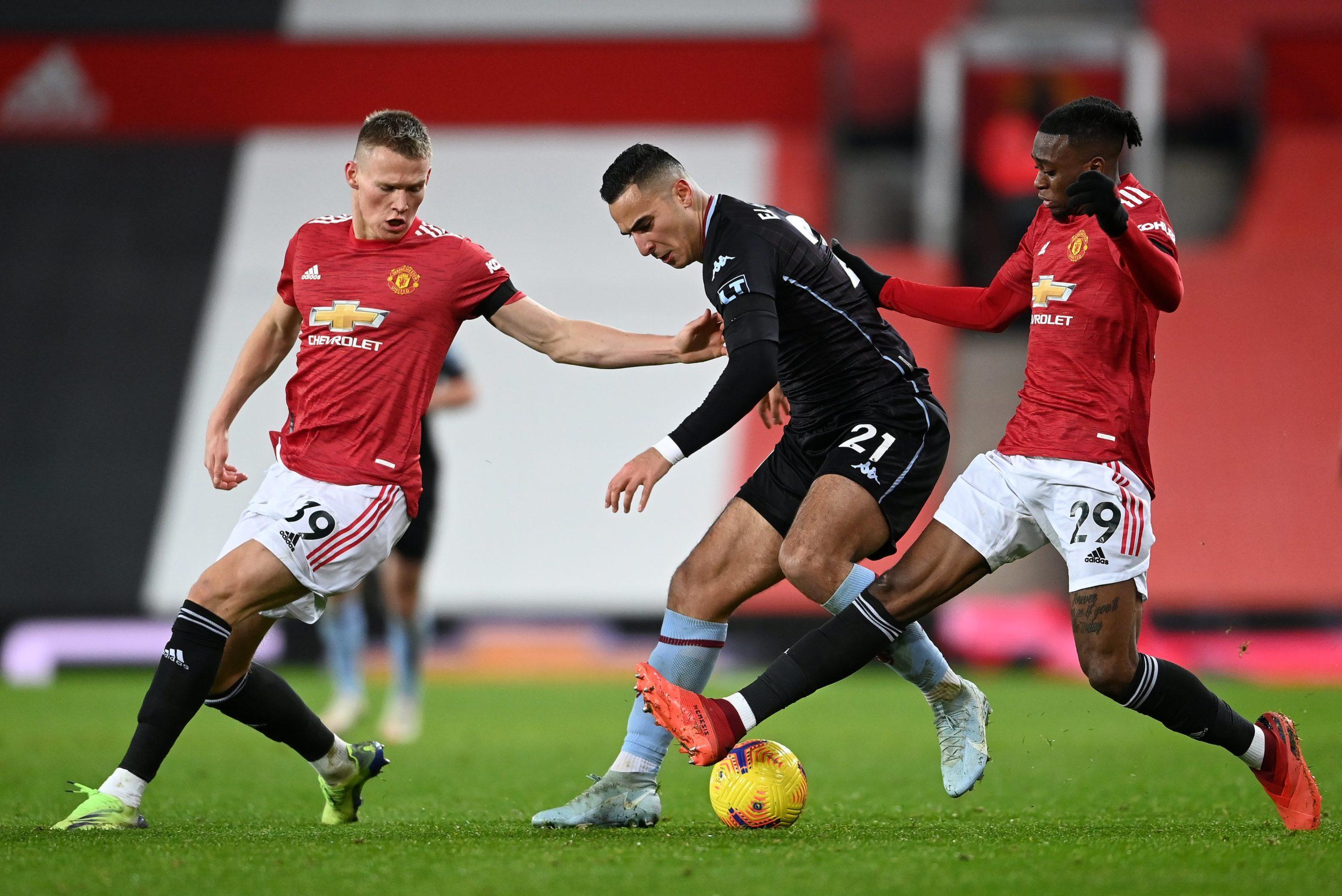 Manchester United against Aston Villa [PHOTO CREDIT: @ManUtd]