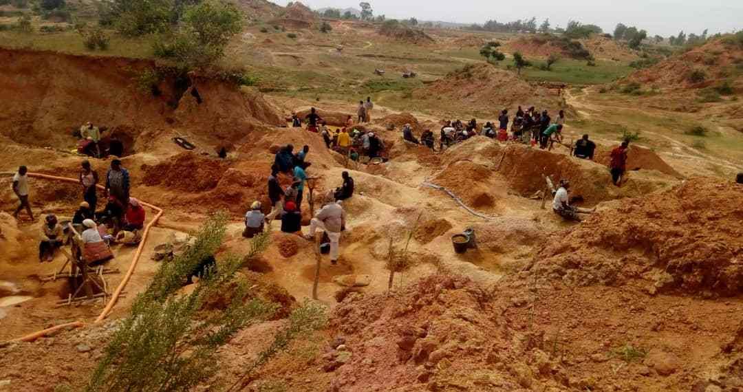 Sabon layi tin mining site