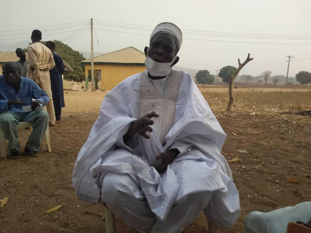 Malam Ali Isah, head of Alheri leprosy settlement in Yangoji, Kwali LGA of the FCT.