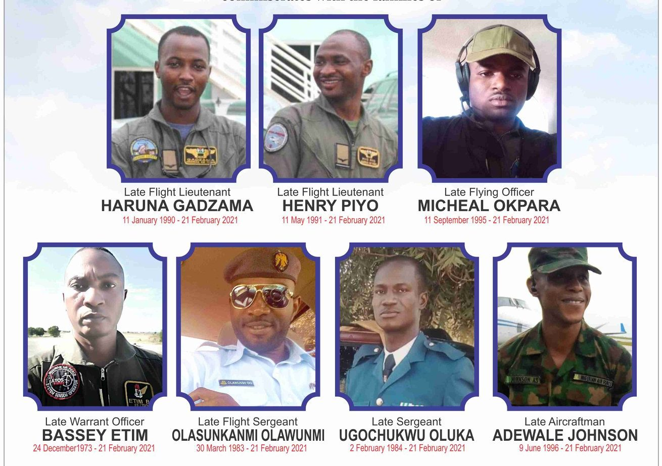 Air Force plane crash victims buried in Abuja