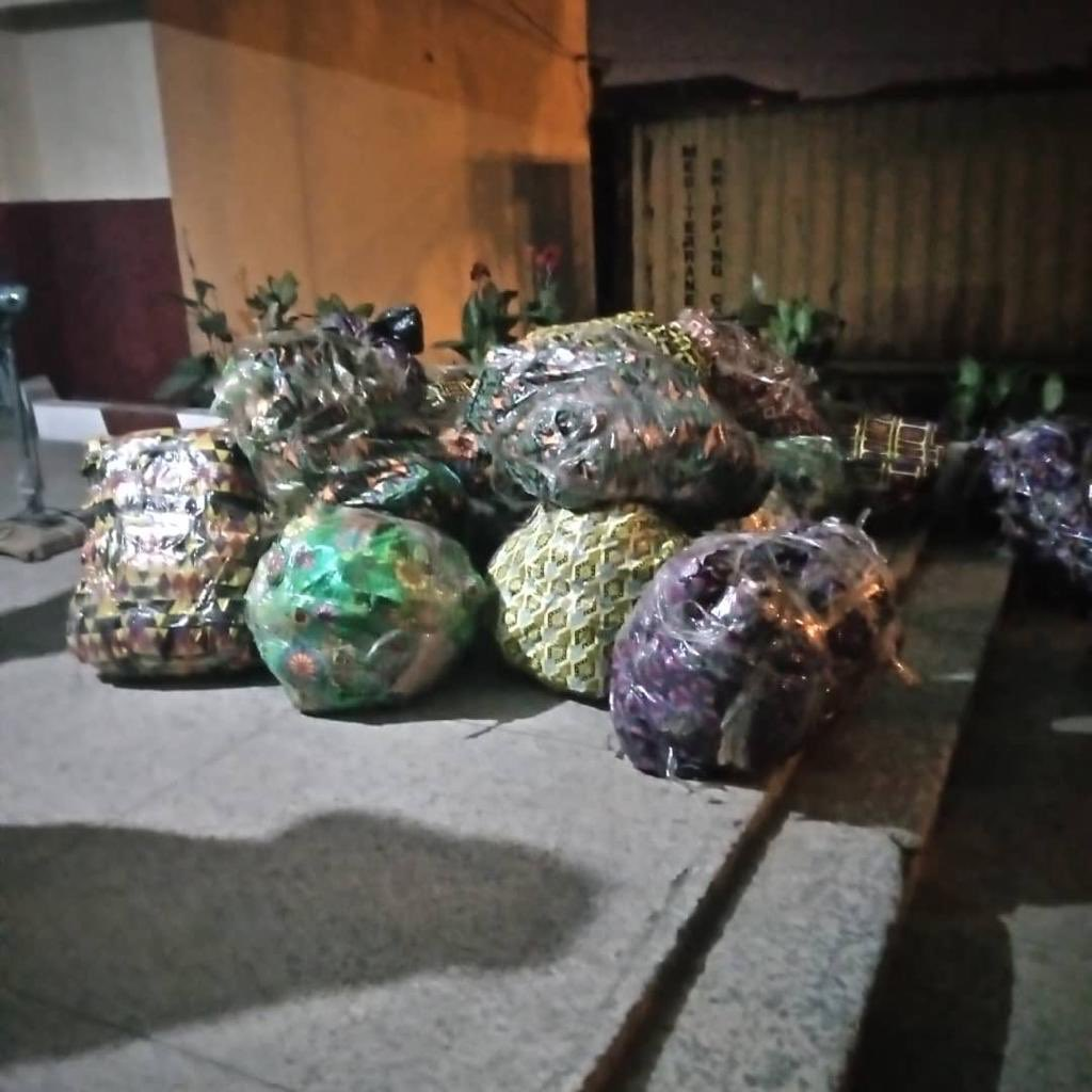 Compressed cannabis sativa uncovered in Rivers [PHOTO CREDIT: @ndlea_nigeria]
