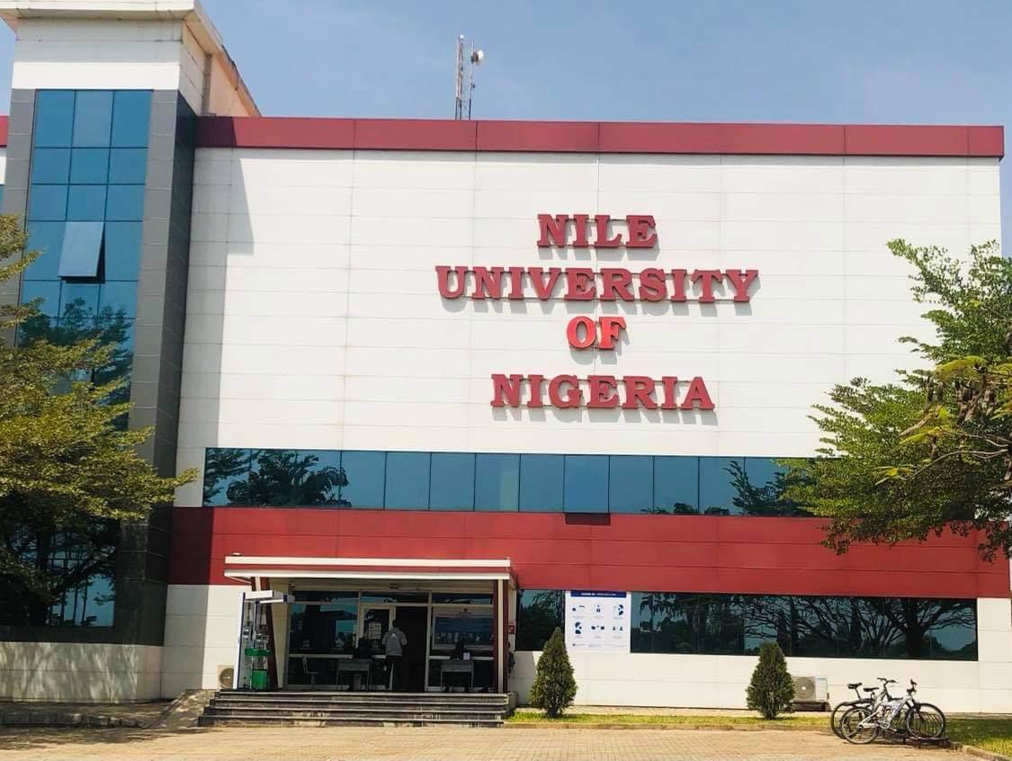 Admin block at Niles University, Abuja.