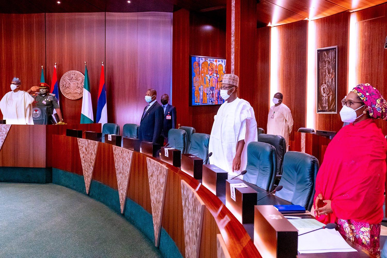 Federal Executive Council (PHOTO CREDIT: Twitter/@BashirAhmaad)
